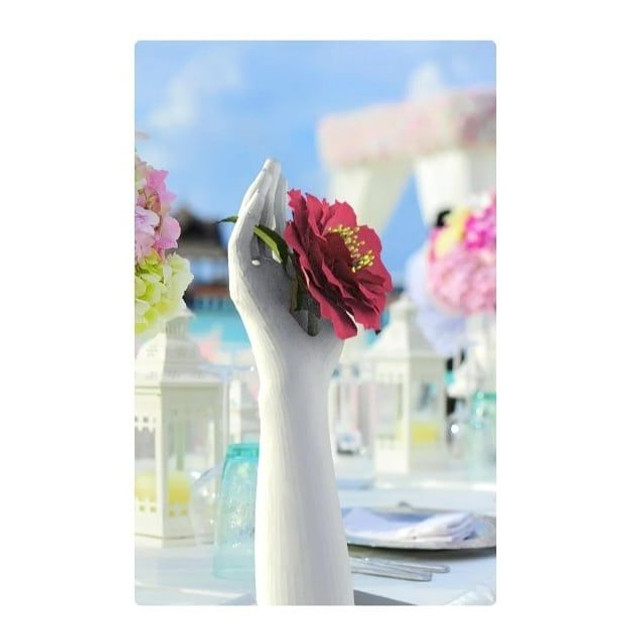 Vaso de mão (vaso de flores / porta-anel / porta-relógio