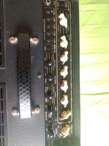 Baixei pra vender amplificador guitarra Vox vt80+ 120w de potência - Foto 6