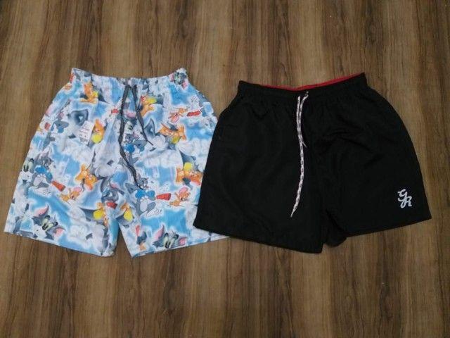 Shorts moda praia disponíveis - Foto 5