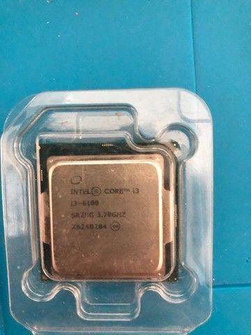 Processador Intel Core i3-6100  3.7 GHz com Cooler Original - Foto 2
