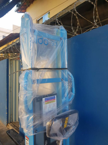 Empilhadeira hidráulica paletrans 1,5 toneladas  - Foto 2