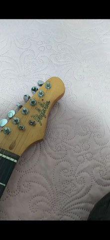 Guitarra Dolphin vendo ou troco - Foto 4