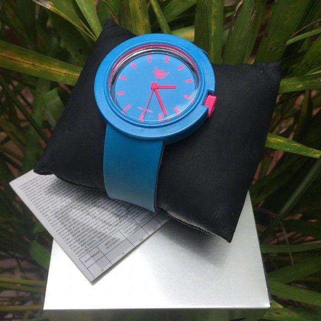 Relógio Feminino Hang Loose - Baby Doll Blue - Foto 3