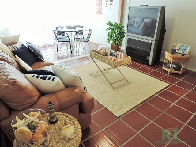 Apartamento na praia, Vista mar, 3 dormitórios, Lazer, 1 vaga, Astúrias, Guarujá. - Foto 8