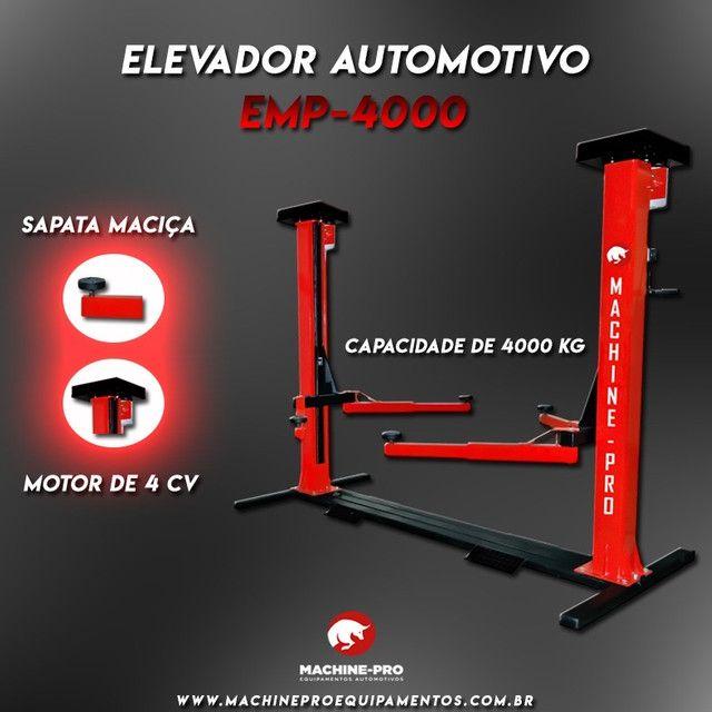 Elevador Automotivo Machine-Pro 4000 kg   Equipamento Novo   Trifásico