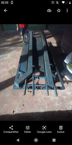 Vende-se formas de fazer porte e uma mesa de fazer estaca de concreto - Foto 4