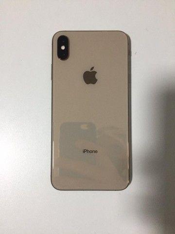 IPHONE XS MAX 64GB DOURADO, APARELHO CONSERVADO, SEM FACE ID