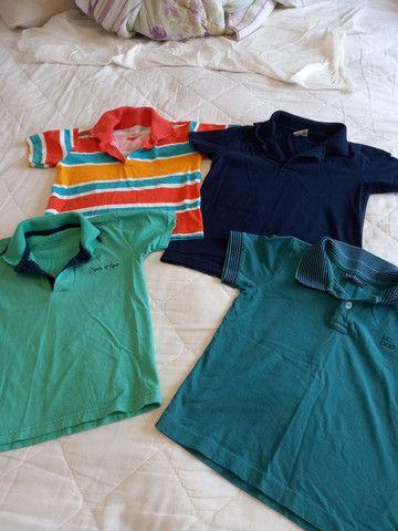 Camisas Polo Menino - Tamanho 4