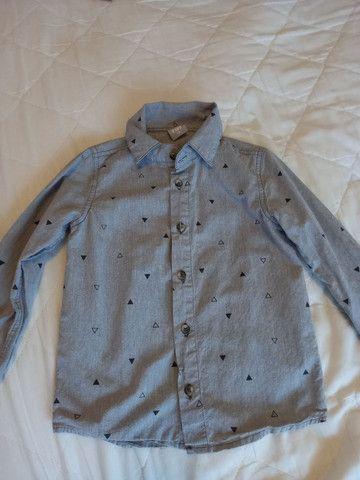 Camisa Hering Menino - Tamanho 4