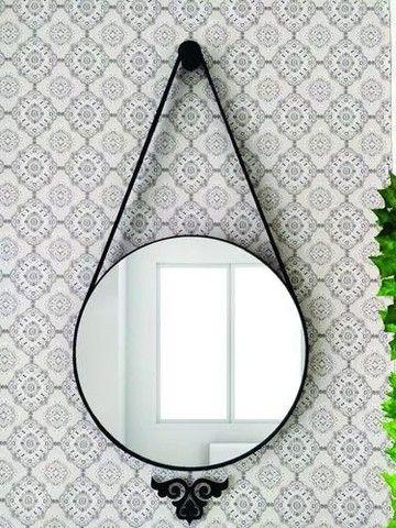 Espelho Adnet 60cm diâmetro/ lacrado na caixa  - Foto 2