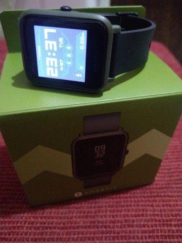 AMAZFIT BIP COM GPS Semi novo na caixa   - Foto 3