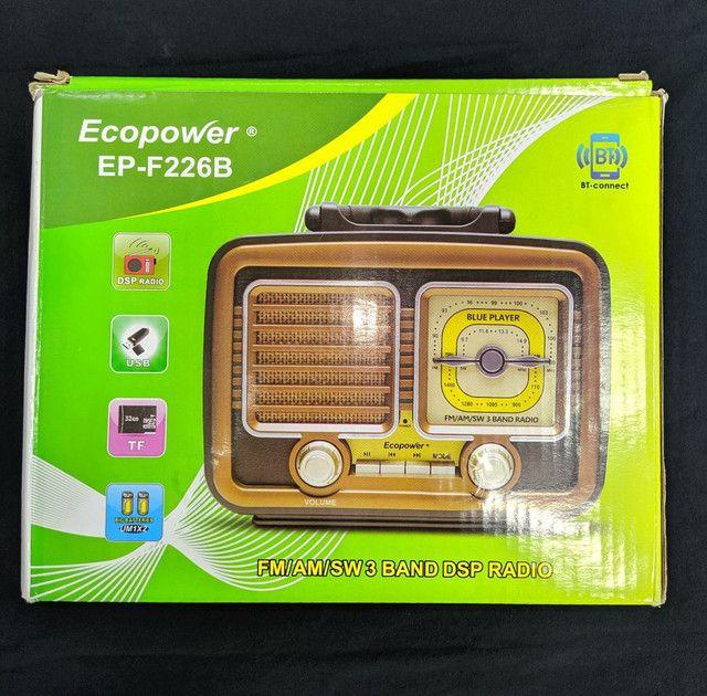 Rádio Portátil Ecopower EP-F226B - Foto 2