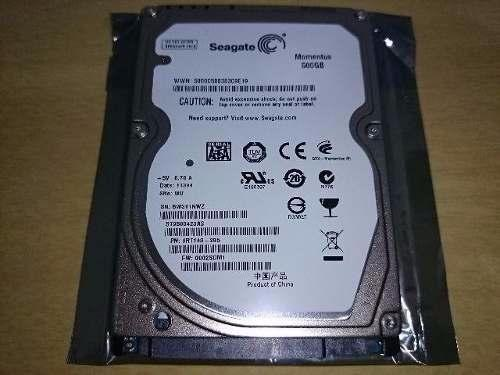 Hd notebook seagate 500gb com defeito