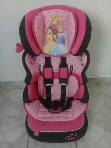 Cadeira para Carro Princesas de 9 à 36kg