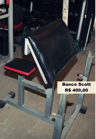 Banco Scott profissional impecável