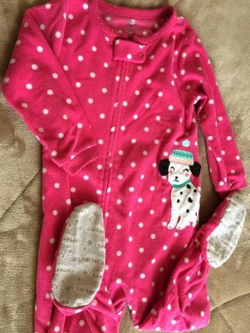 Pijama Carters Tamanho 2 anos Menina