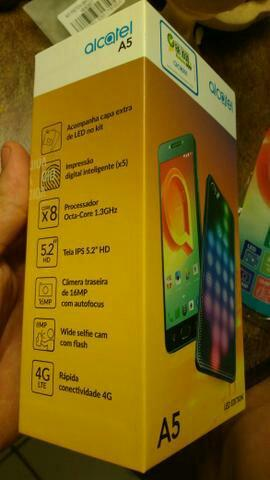 Vendo Smartphone Alcatel A5 LED 4G Dual