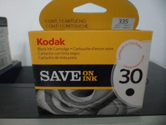 Cartucho de Tinta Kodak n. 30 - Novo Lacrado Original
