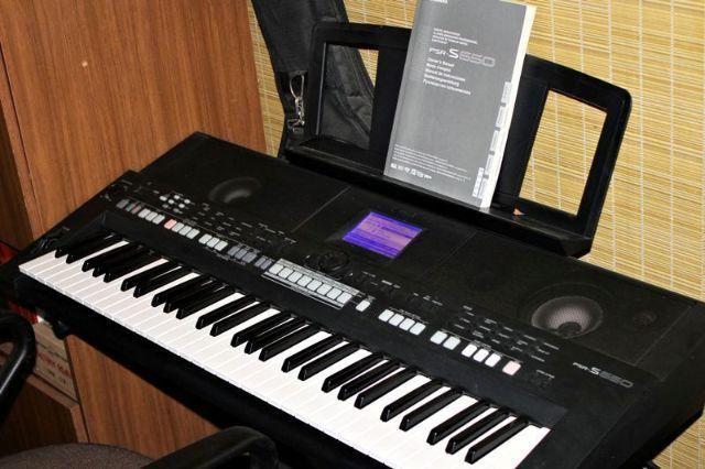 Psr s650 teclado arranjador yamaha