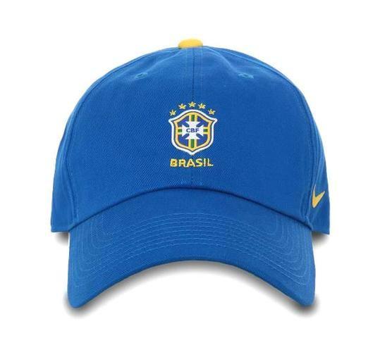 d055a2e5e0e3e Bone Nike Brasil Selecao H86 azul - Esportes e ginástica - Sítio ...