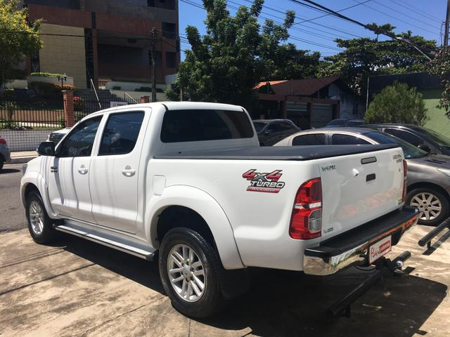 "Hilux CD SRV 2014/2015 a diesel 4x4 automática rodas 17"" oferta do dia ! - Foto 19"