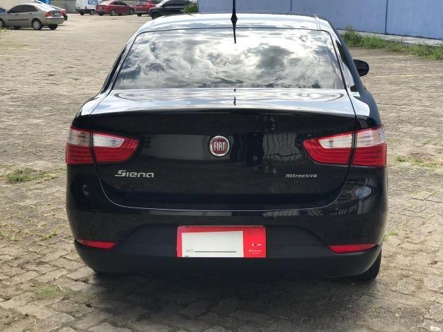 Fiat gran siena attractive 1.0 completo flex - Foto 9