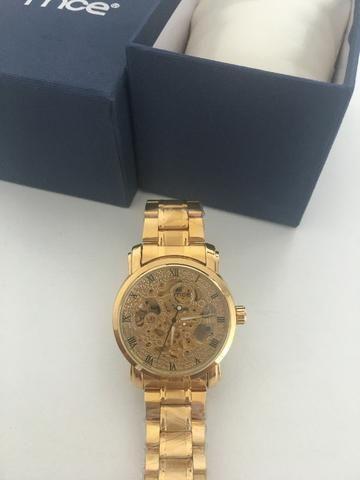 dd08e4e4ade Relógio MCE Gold - Bijouterias