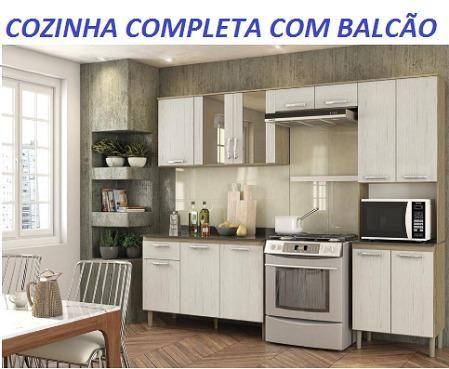 Otimo Preço Linda Cozinha Completa Com Balcão Nova 789,00(Entrego e Monto)