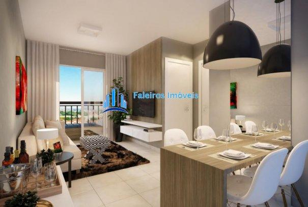 Apartamento 2 dormitórios com sacada e lazer completo - Apartamento em Lançament... - Foto 10