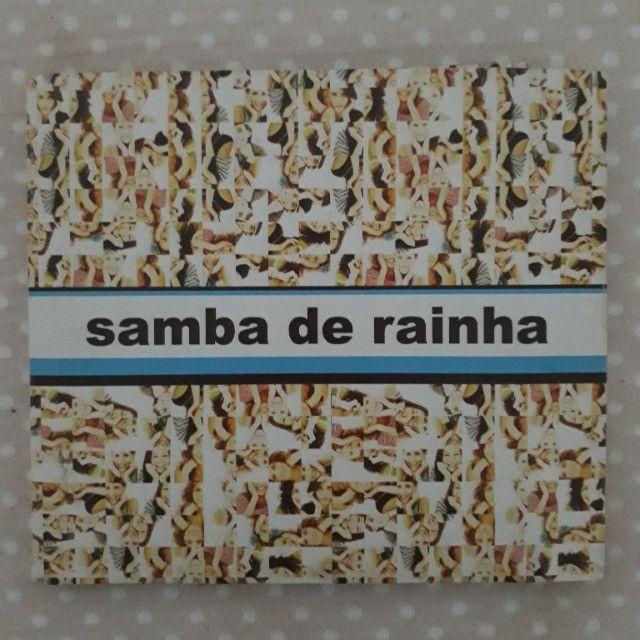 CD Samba de Rainha - Vivendo Samba - autografado