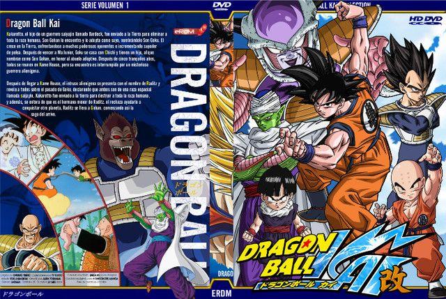 DVDs Dragon Ball Kai (Completo) Ótima Qualidade de Imagem