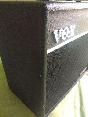 Baixei pra vender amplificador guitarra Vox vt80+ 120w de potência - Foto 2