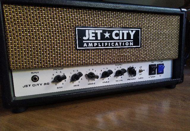 Amplificador Jet City Vintage 20w (cabeçote Valvulado)