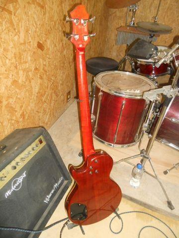 Baixo Grass Roots G LP-48 Les Paul (sólido) - Foto 6