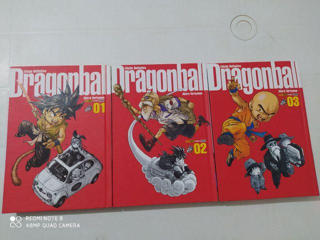 Mangá Dragon Ball edição definitiva(de luxo) - Foto 2