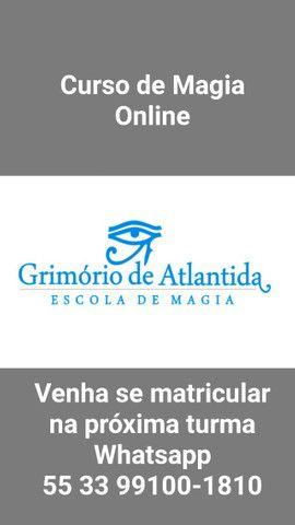 Mestre Zoroastros Miguel - Escola de Magia Grimório de Atlântida ?? Curso de Magia Online - Foto 3