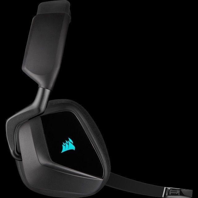 Headset Gamer Corsair Void Elite Wireless, RGB, 7.1 Surround