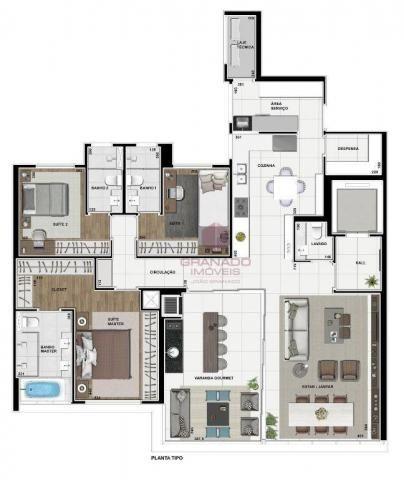 Apartamento à venda, 179 m² por R$ 370.000,00 - Zona 07 - Maringá/PR - Foto 4
