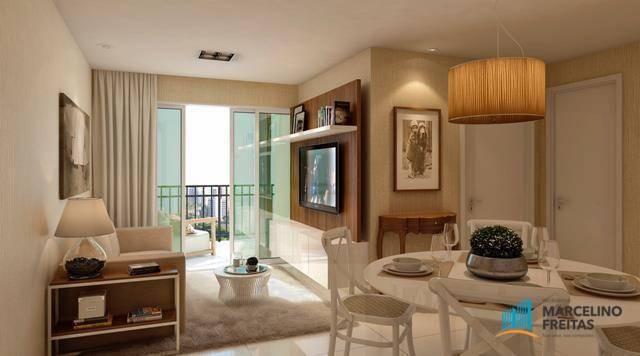 Apartamento com 2 dormitórios à venda, 53 m² por R$ 360.684,20 - Jacarecanga - Fortaleza/C - Foto 9
