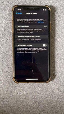 IPHONE XS MAX 64GB DOURADO, APARELHO CONSERVADO, SEM FACE ID - Foto 4