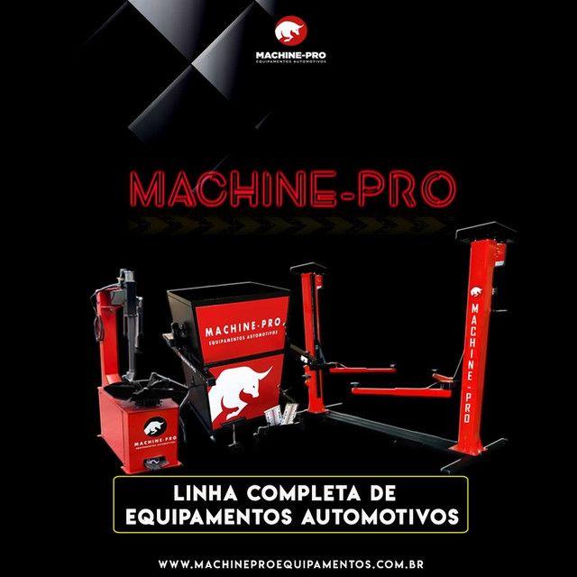 Balanceadora de Rodas Motorizada Automática Machine-Pro | Novo - Foto 2