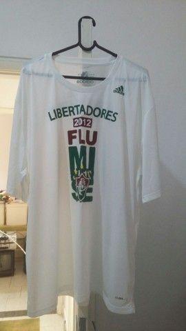 Camisa Fluminense Adidas Libertadores 2012 tamanho XL