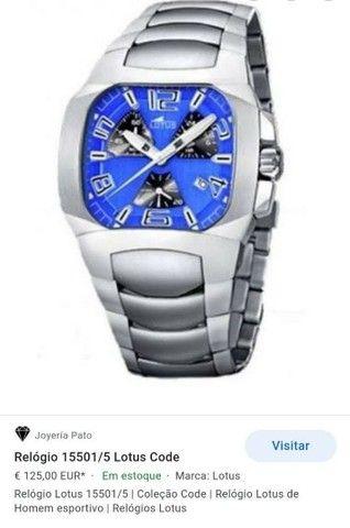 Relógio Lótus torrando