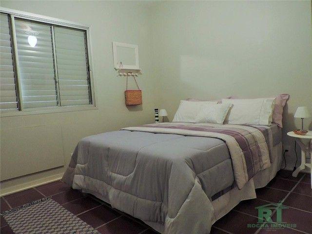 Apartamento na praia, Vista mar, 3 dormitórios, Lazer, 1 vaga, Astúrias, Guarujá. - Foto 13