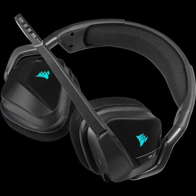 Headset Gamer Corsair Void Elite Wireless, RGB, 7.1 Surround - Foto 4