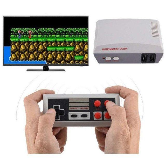 Console Classic Edition HD Video Game com 600 Jogos Clássicos - Foto 2