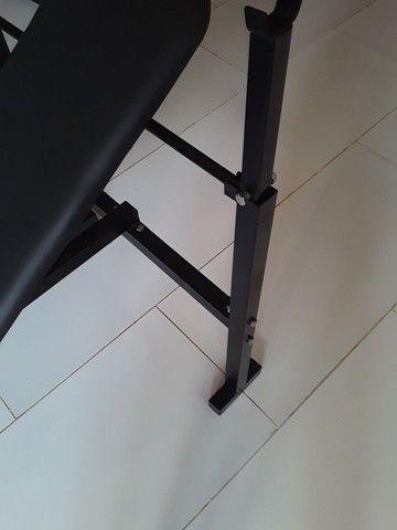 Aparelho De Musculação Mesa De Supino  - Foto 4