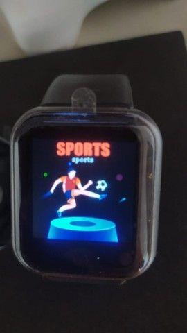 Smart Watch Y68 Esportivo de 1,3? com Monitor Fitness/Cardíaco.Novo - Foto 3