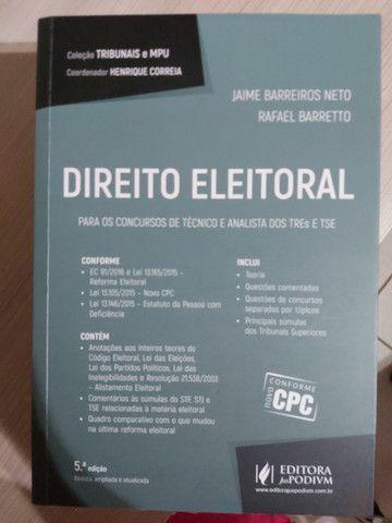 Direito Eleitoral Coleção Tribunais e MPU