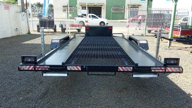Carreta UTV/Quadriciclo/Veic leves 4,00 x 1,85m - Reboque Zero KM - / Polaris / Fourtrax  - Foto 2